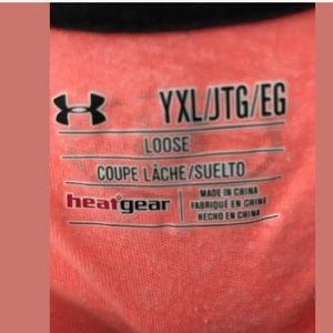 Under Armour Shirts & Tops - 5/$20 UA Coral Skull Top Youth XL (or Adult Small)